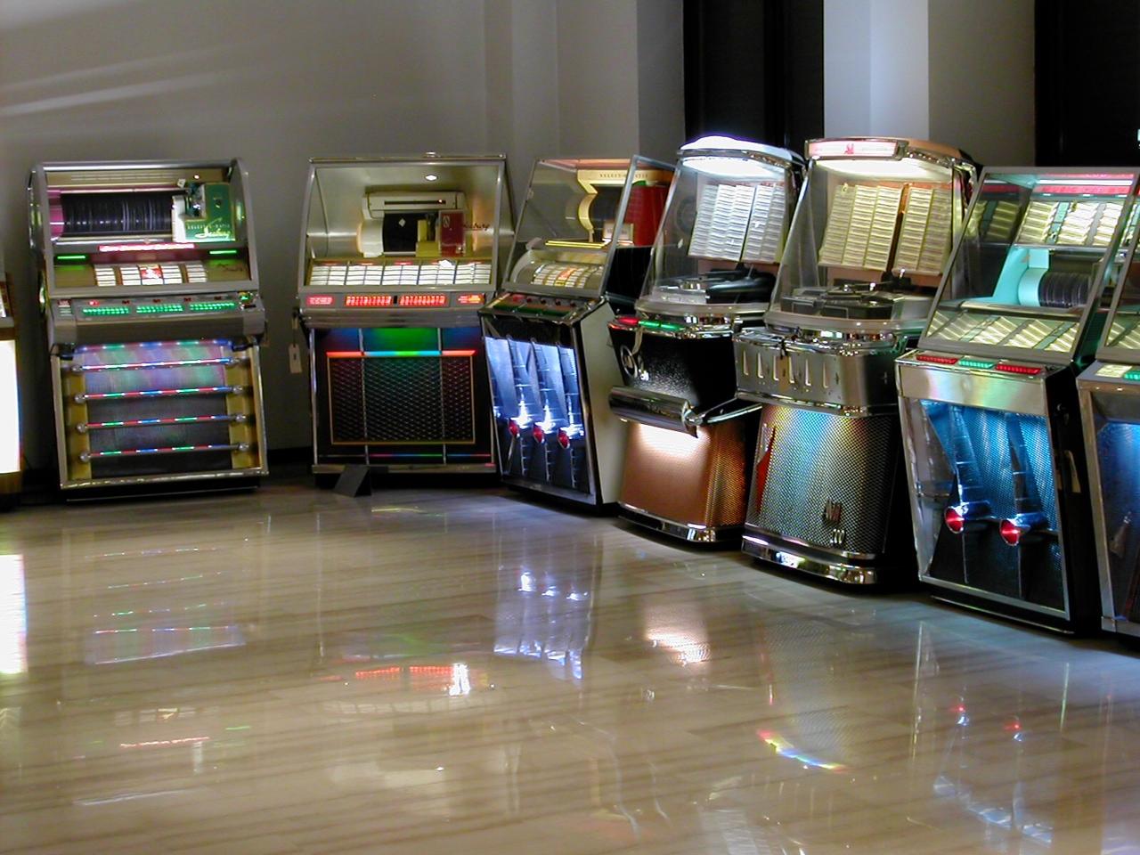 Noleggio slot machine bar